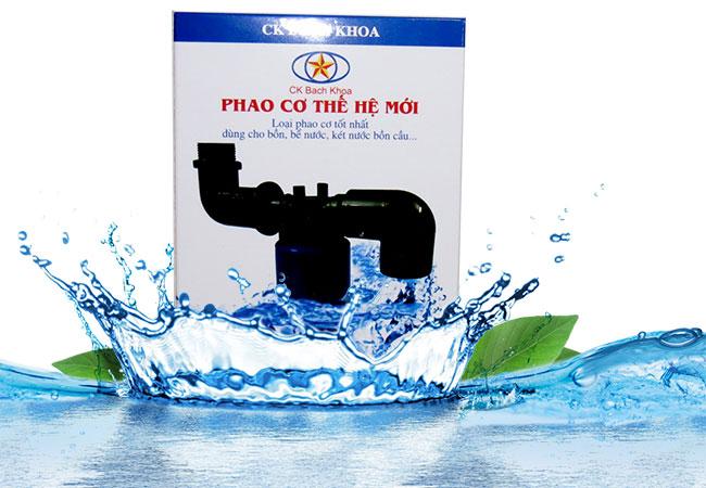 Phao cơ bồn nước thế hệ mới